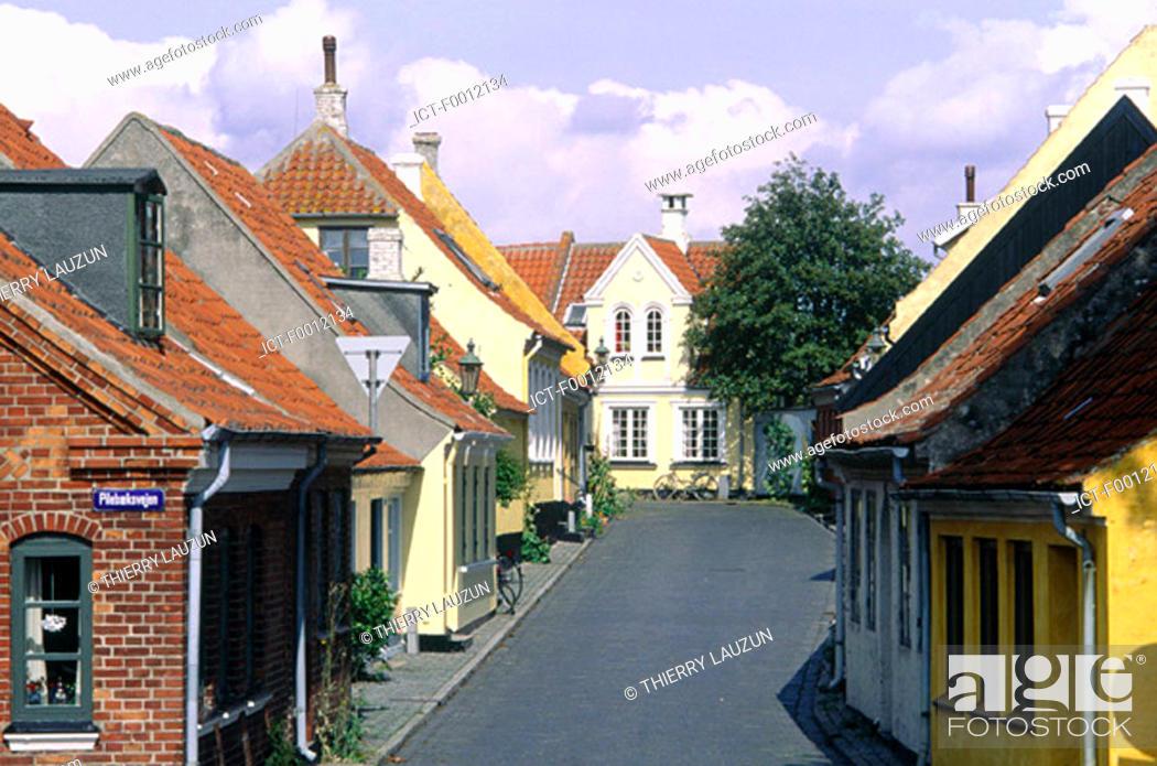 Stock Photo: Denmark, Aero island, Aeroskobing.