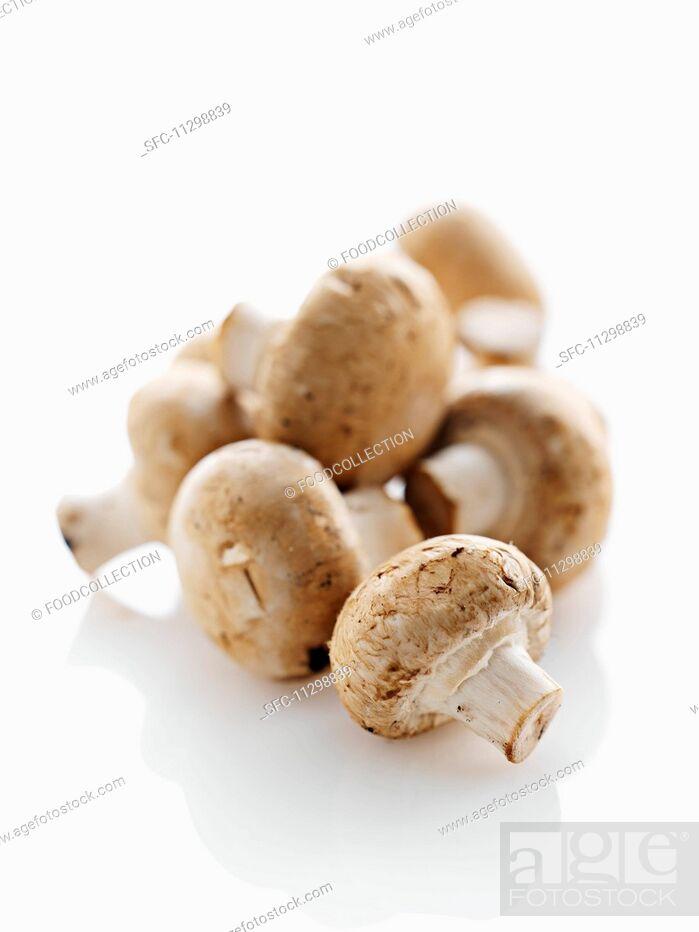 Imagen: Chestnut mushrooms.