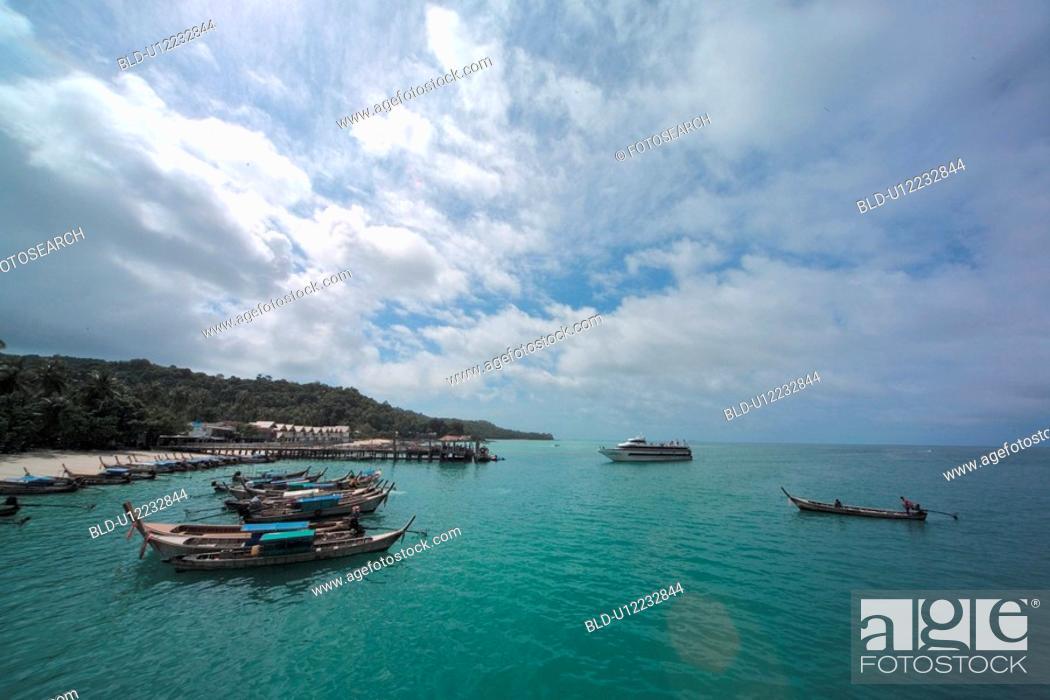 Stock Photo: vacation, nature, sea, landscape, scenery, scene, suntan.