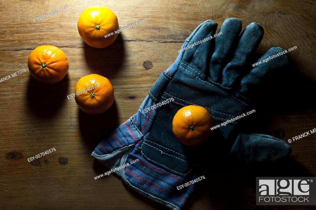 Stock Photo: Clementines.
