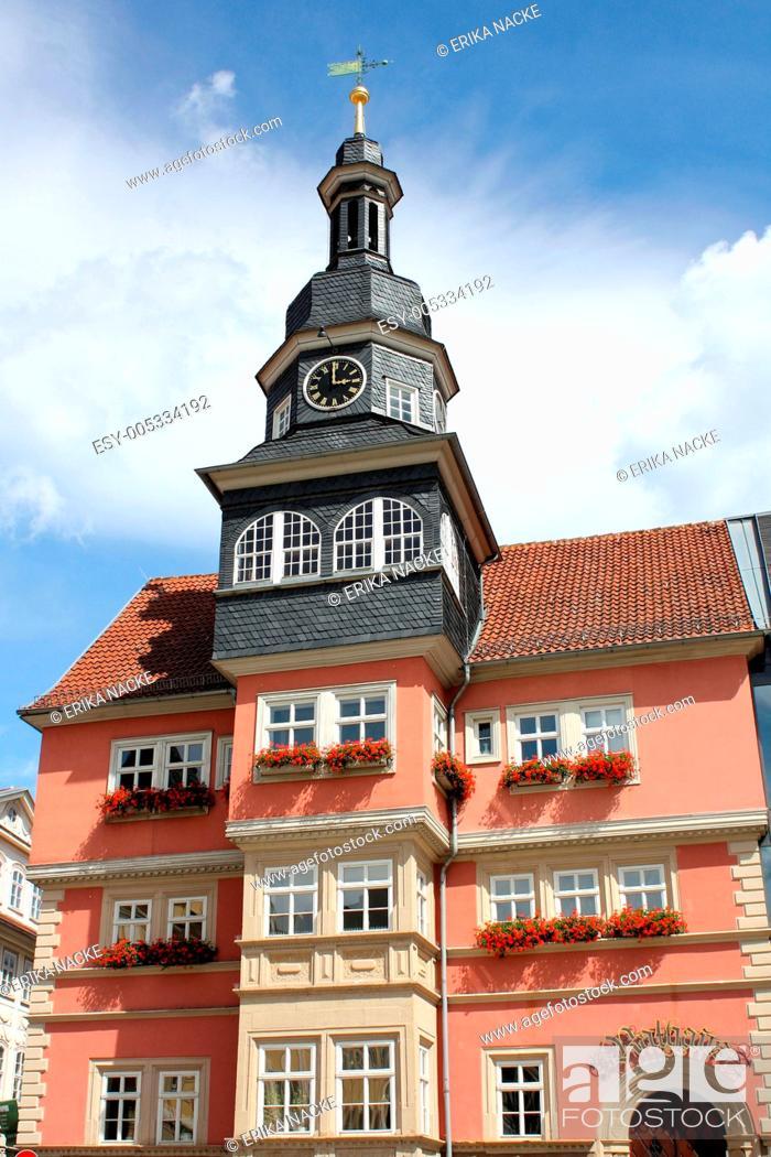 Stock Photo: Rathaus Eisenach.