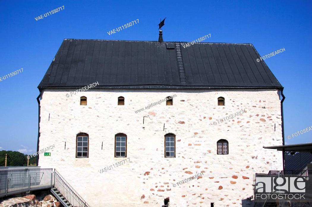 Stock Photo: Blue Sky, Day, Dwelling, House.