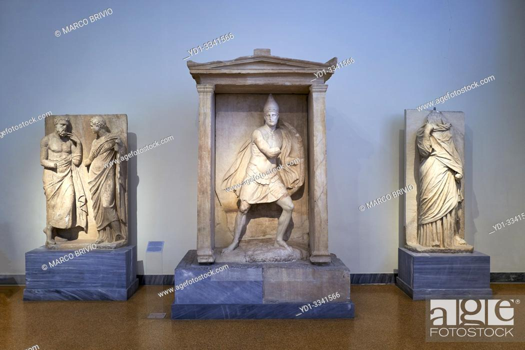 Imagen: Athens Greece. The National Archaeological Museum.