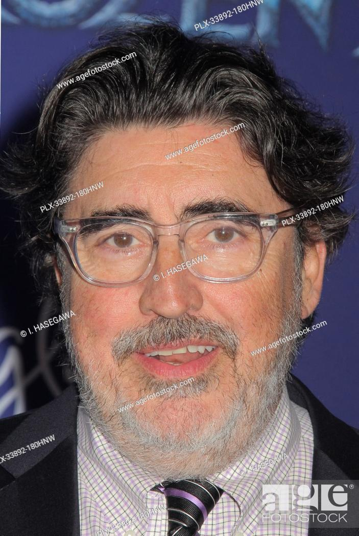 """Stock Photo: Alfred Molina 11/07/2019 The World Premiere of """"""""Frozen 2"""""""" held at the Dolby Theatre in Los Angeles, CA. Photo by I. Hasegawa / HNW / PictureLux."""