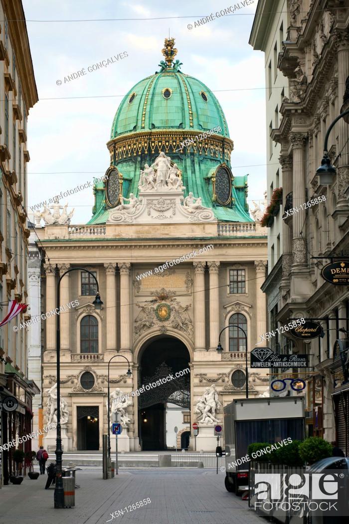 Stock Photo: Streets of Vienna, Austria.