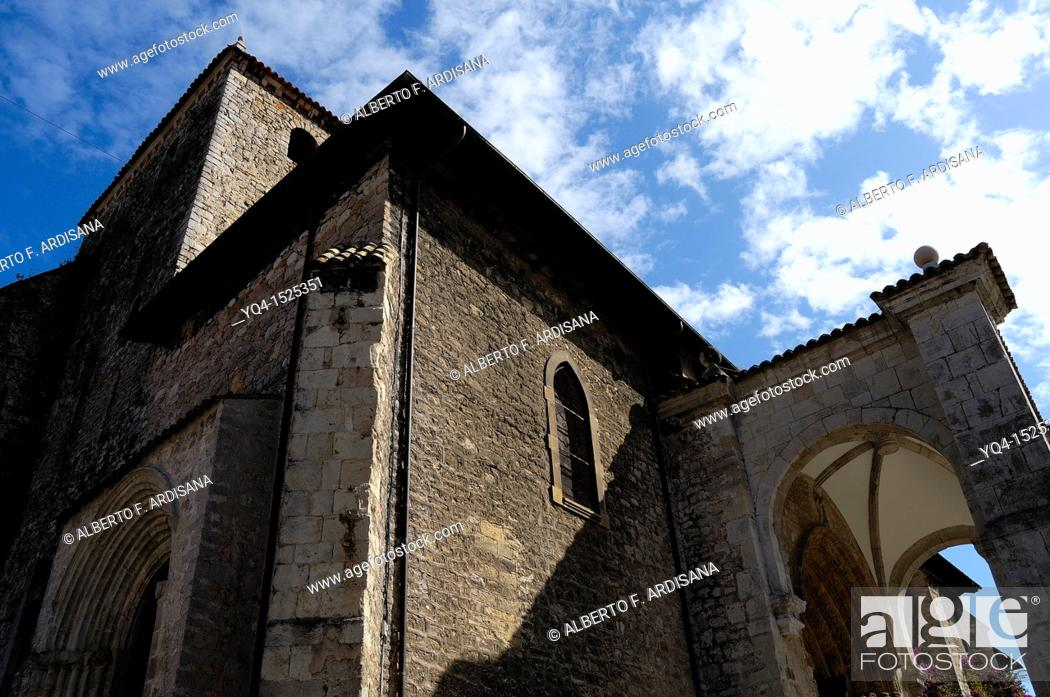 Stock Photo: Basilica, Llanes, Asturias, Spain.