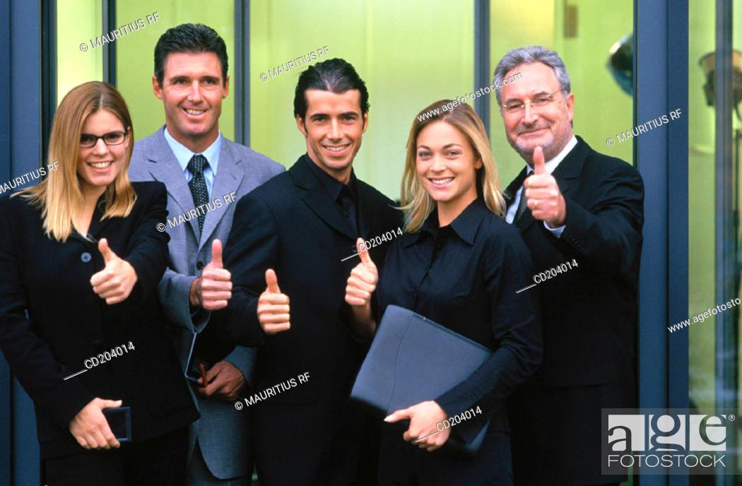 Stock Photo: Business, Success, Teamwork.