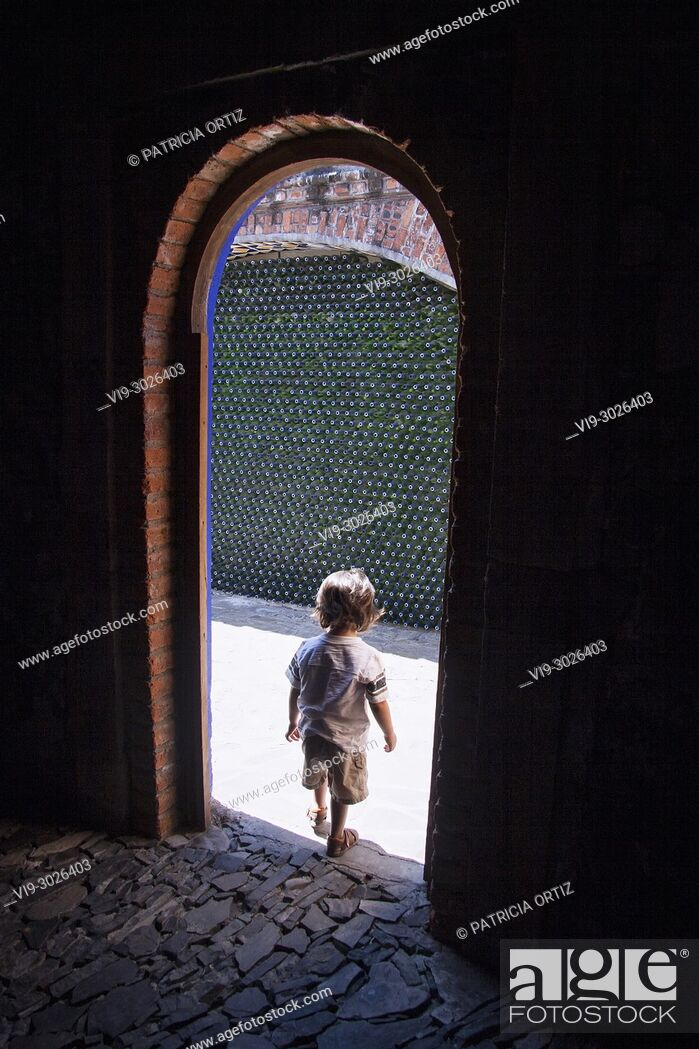Stock Photo: Boy going out, Guanajuato State, MEXICO.
