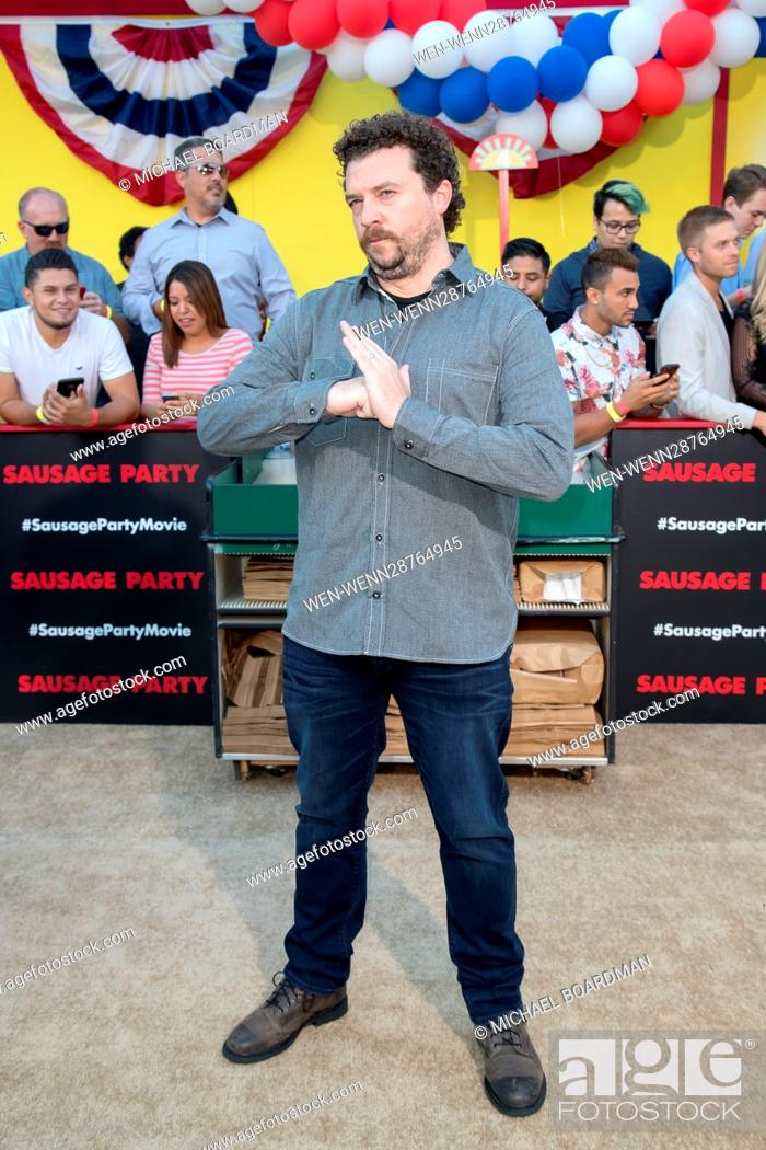 Stock Photo: Premiere of Sony's 'Sausage Party' at Regency Village Theatre - Arrivals Featuring: Danny McBride Where: Westwood, California.