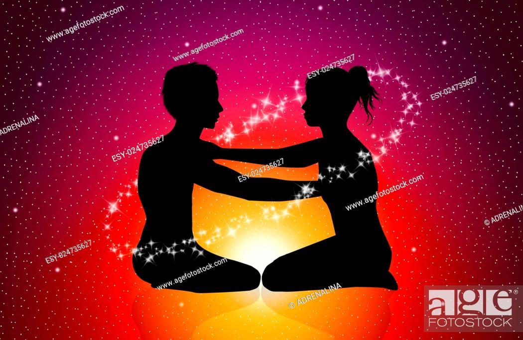 Imagen: illustration of Cosmic energy.