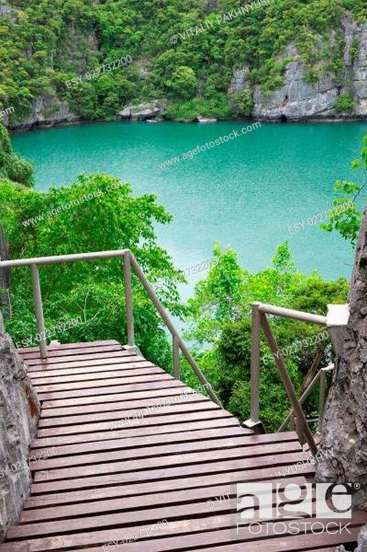 Stock Photo: lagoon.