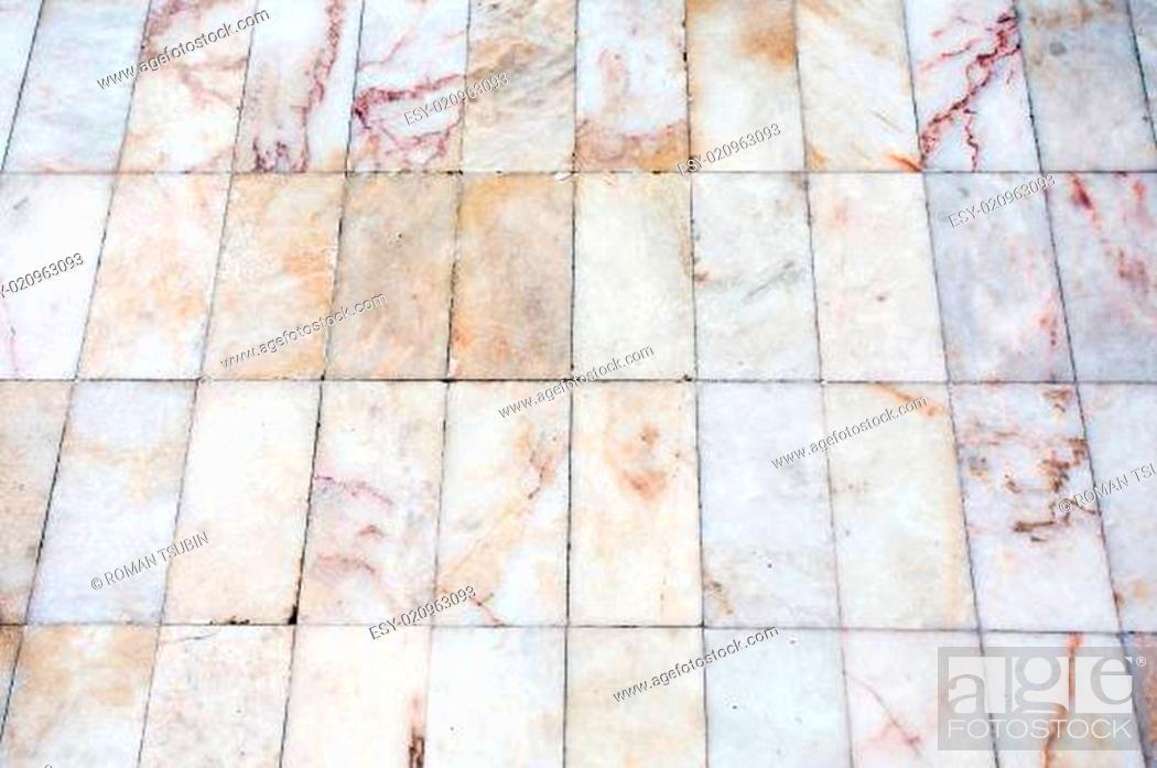 Stock Photo: marble floor.
