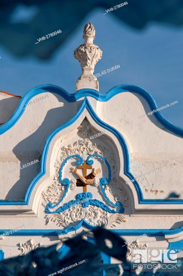 Stock Photo: Church in Campo Maior, Alentejo Region, Portugal.