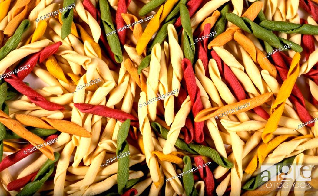 Stock Photo: Pasta - Fancy Fusilli.