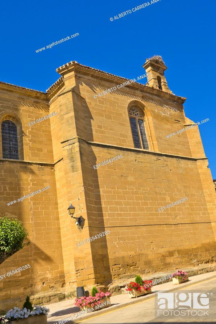 Imagen: Parish Church of San Martin, S. XVI, Casalarreina, La Rioja, Spain, Europe.