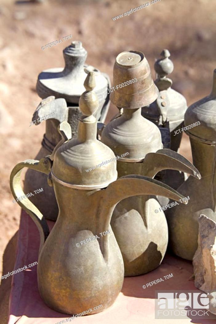 Stock Photo: Jordan, Petra, souvenirs.