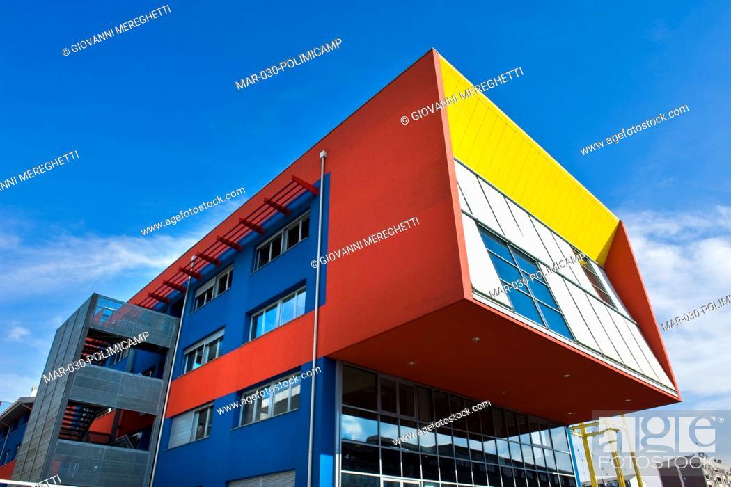 Stock Photo   Scuola Del Design, Politecnico Di Milano, Bovisa, Milano,  Lombardia, Italia