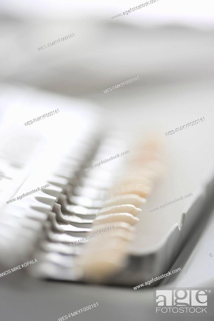 Stock Photo: Germany, Dental equipment in dental office.
