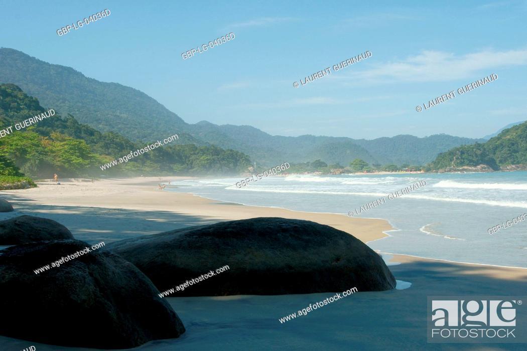 Stock Photo: Beach, Landscape, Trindade, Rio de Janeiro, Brazil.