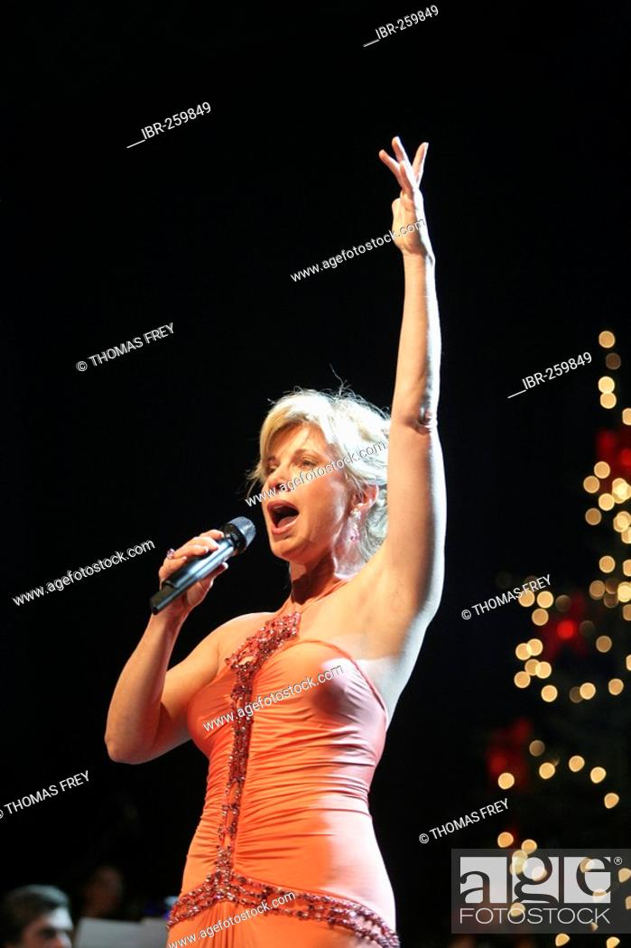 Soprano singer Deborah Sasson, Stock Photo, Picture And Rights