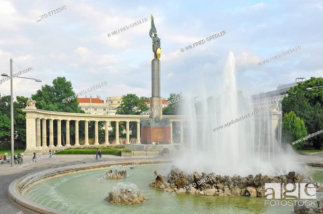 Heldendenkmal Der Roten Armee Schwarzenbergplatz Russendenkmal