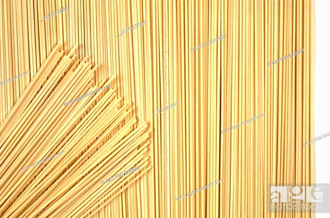 Stock Photo: Pasta - Asian Noodles - Fresh Egg Noodles.