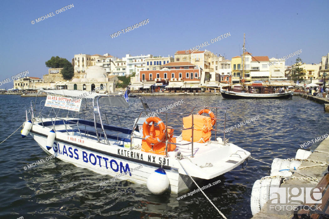 Stock Photo: Chania, Crete, Greek Islands.
