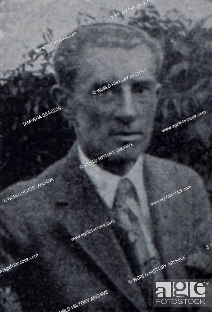 Photograph of Maurice Ravel (1875-1937) a French composer
