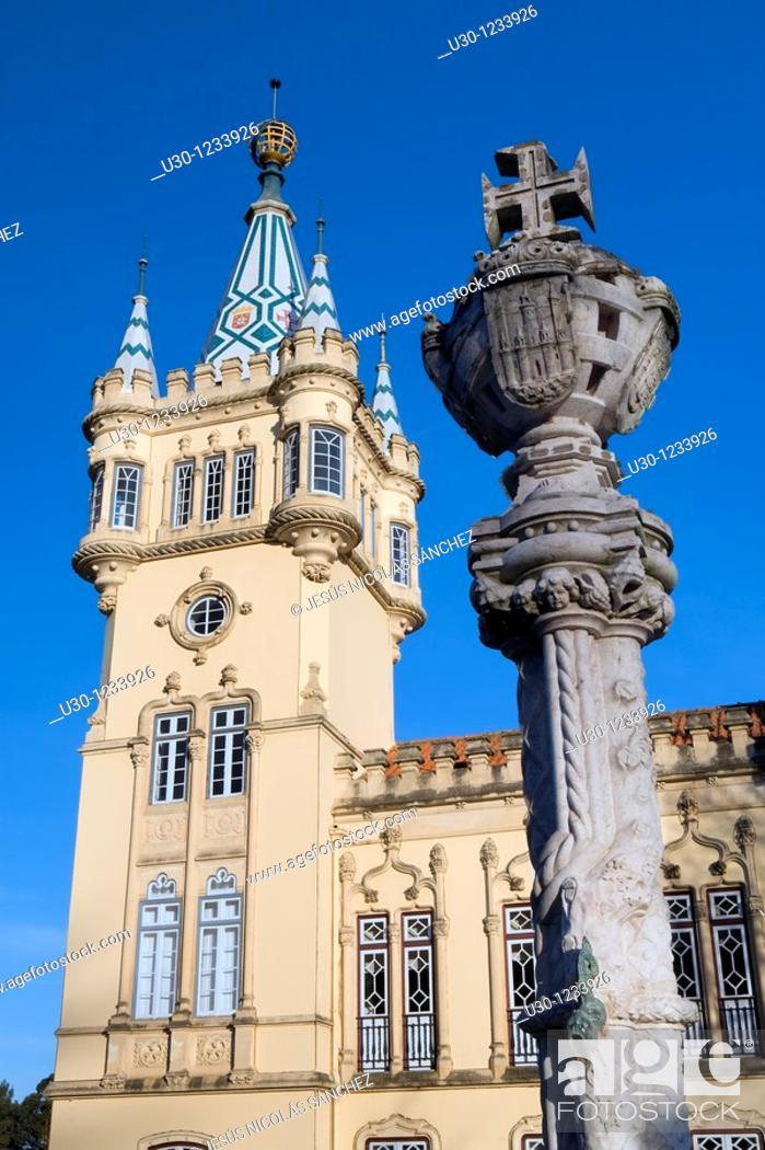 Imagen: Town Hall of Sintra  UNESCO World Heritage  Lisboa District  Portugal.