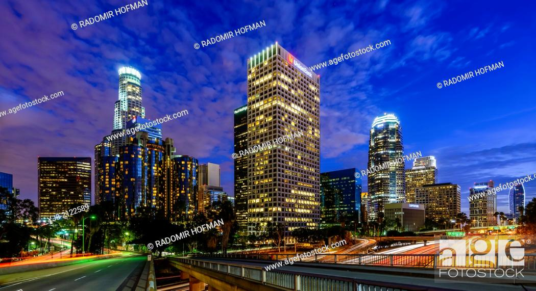 Stock Photo: Downtown Los Angeles, California, USA.