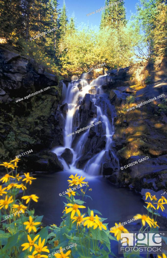 Stock Photo: Waterfall.