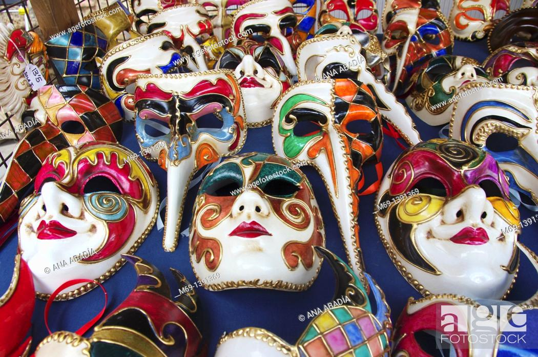 Stock Photo: Venetian Masks.