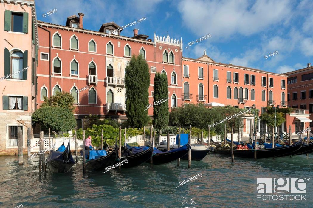 Imagen: Palazzo Rava, Gothic Revival, 1906, Grand Canal, district San Polo, Venice, Veneto, Italy.