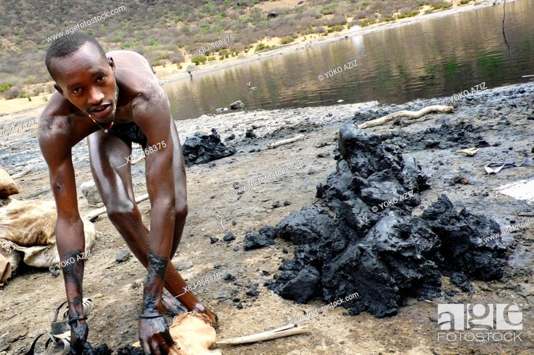 Stock Photo: el sod, ethiopia.
