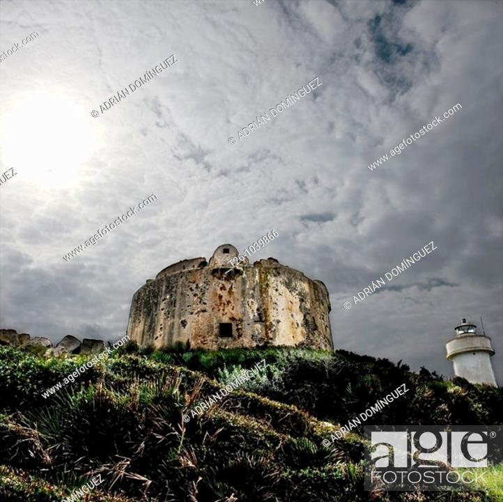 Stock Photo: ruins in Sardinia, Italy.