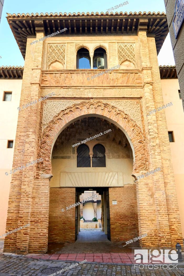 Stock Photo: Corral del Carbon, Granada, Andalusia, Spain, Europe.