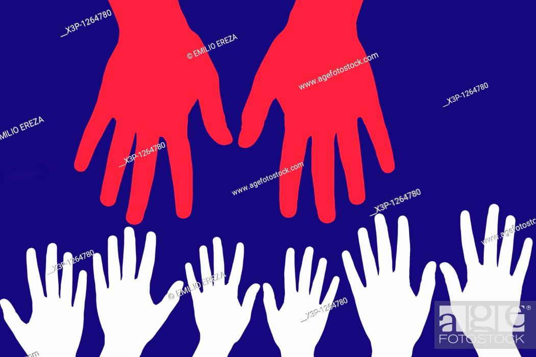 Stock Photo: Hands.