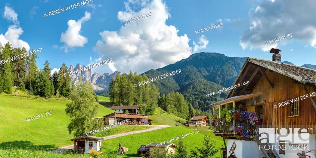 Stock Photo: Giesler mountain Group.