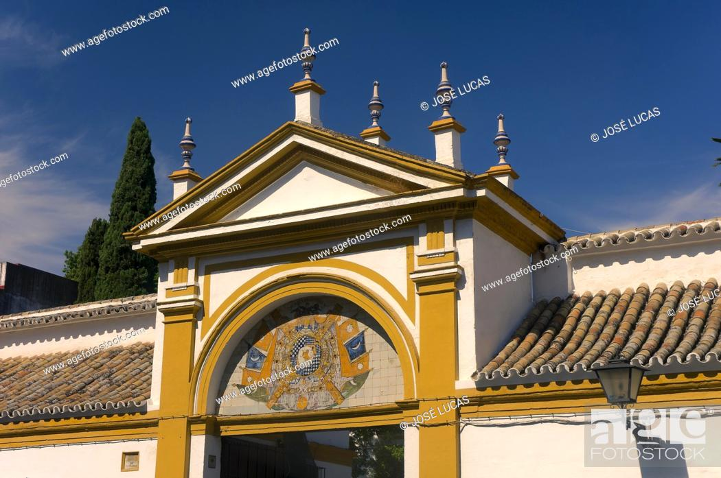 Stock Photo: Palacio de las Duenas, Seville, Region of Andalusia, Spain, Europe.