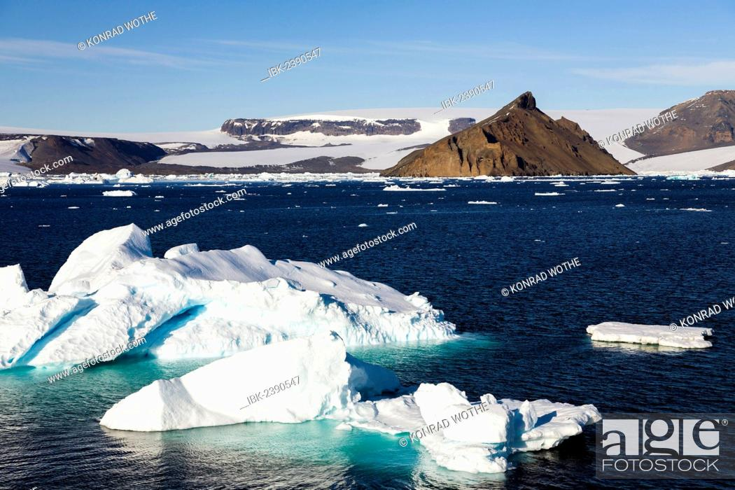 Imagen: Devil Island, Antarctic Sound, Weddell Sea, Southern Ocean, Antarctica.