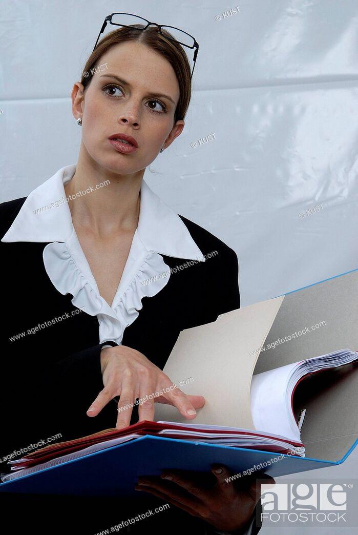 Imagen: Businessfrau. - 05/09/2007.