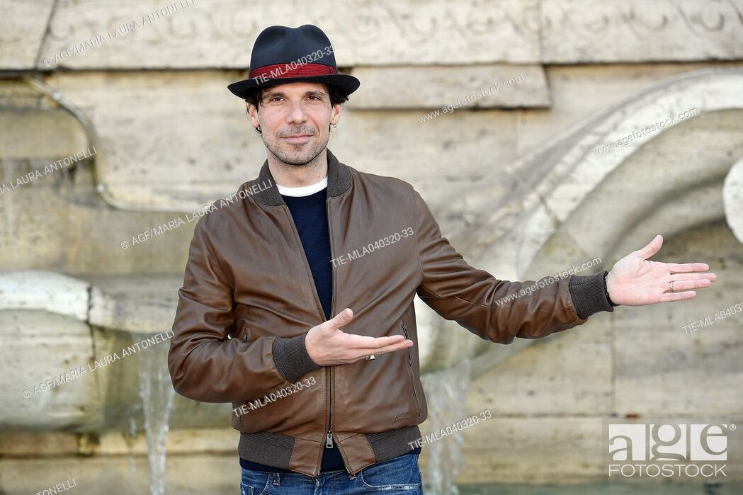Stock Photo: Francesco Montanari during 'La volta buona' film photocall, Rome, 04/03/2020.