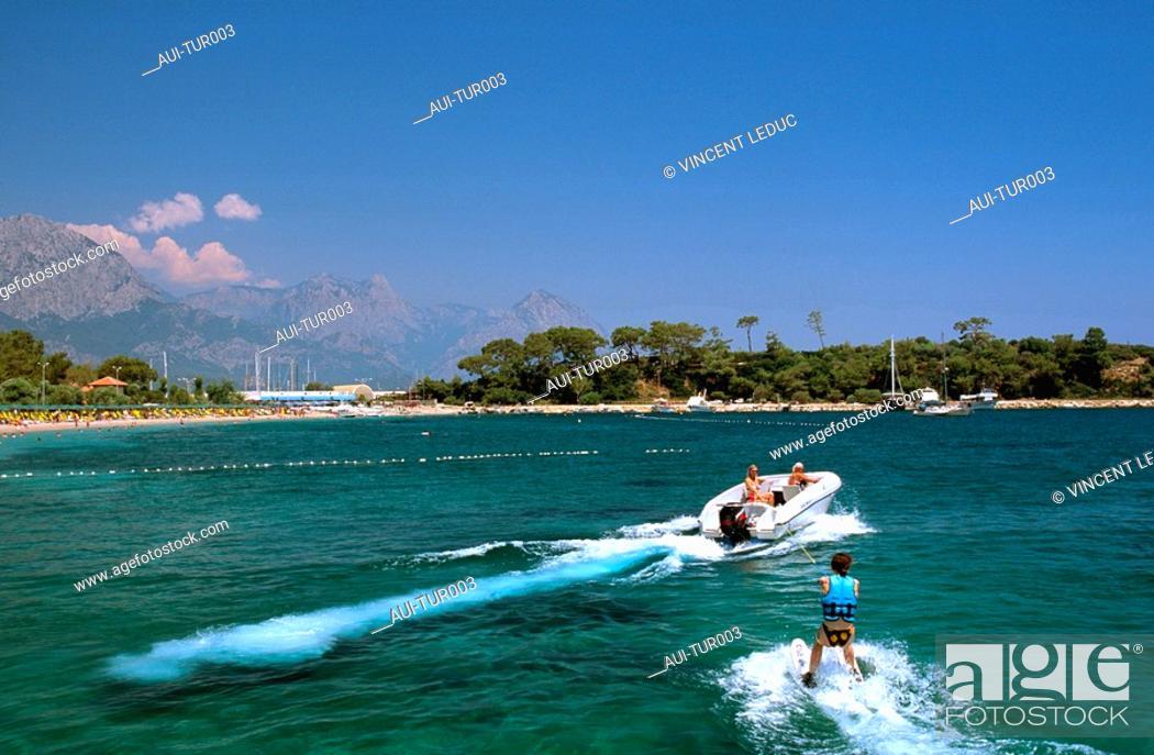 Stock Photo: Turkey - Mediterranean Coast - Antalya Region - West Coast - Kemer.