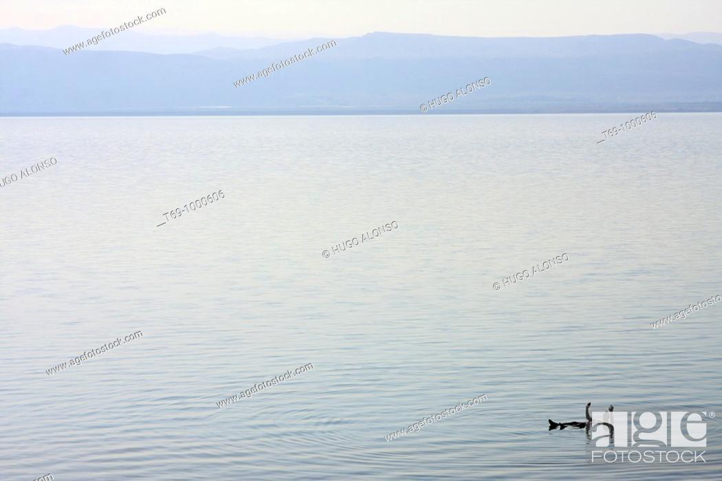 Stock Photo: Dead Sea, Jordan.