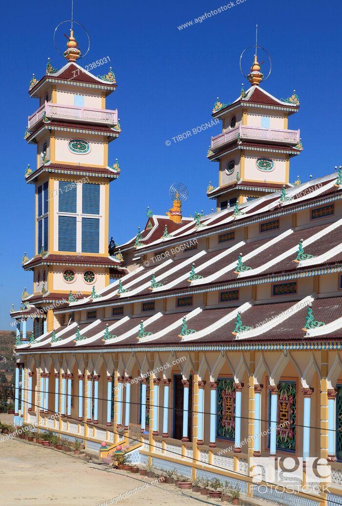 Imagen: Vietnam, Dalat, Trai Mat, Cao Dai Temple.