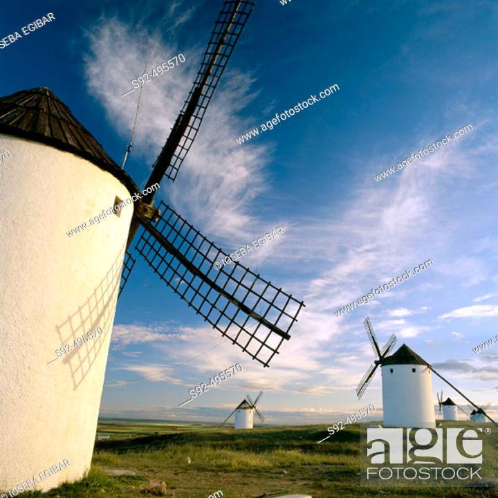Stock Photo: Ciudad Real. Castilla La Mancha. Spain.