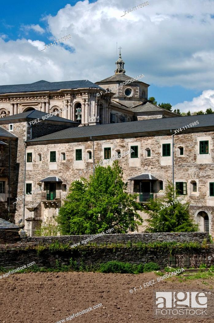 Monasterio De Samos Lugo Galicia Spain Stock Photo Picture And Rights Managed Image Pic Xv4 1115985 Agefotostock