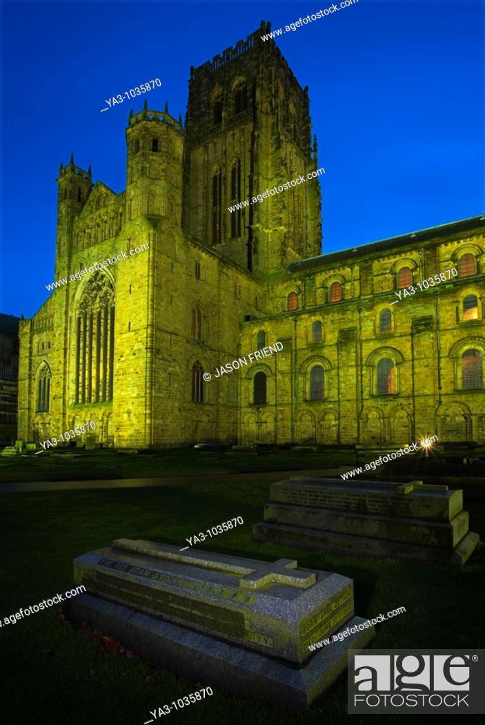 England County Durham Durham City Memorial Gravestone Within The