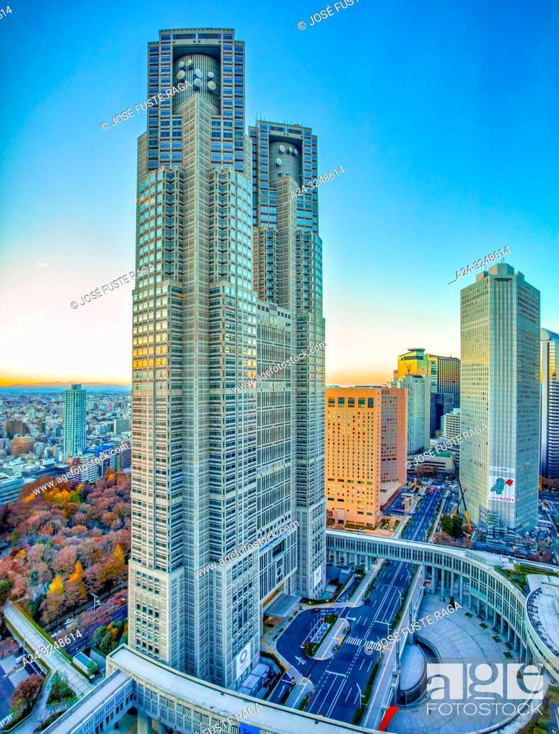 Imagen: Japan, Tokyo City, Shinjuku ward, Tokyo City Hall Bldg.