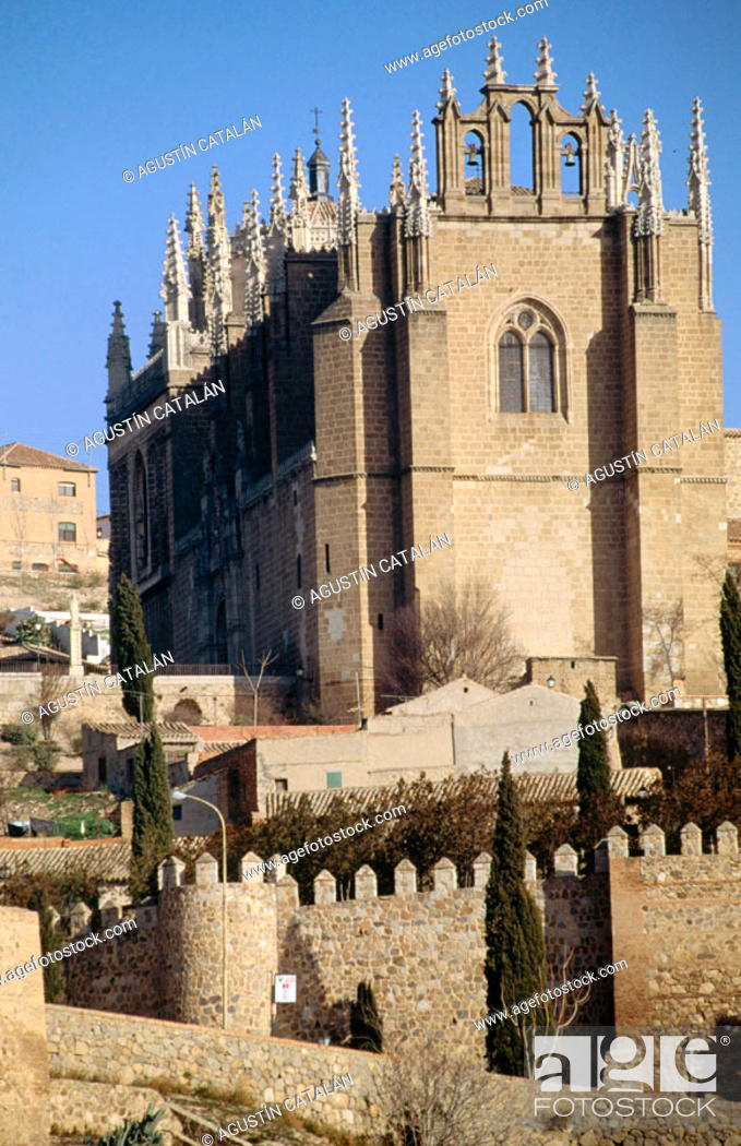 Stock Photo: Church of San Juan de los Reyes, Toledo, Spain.